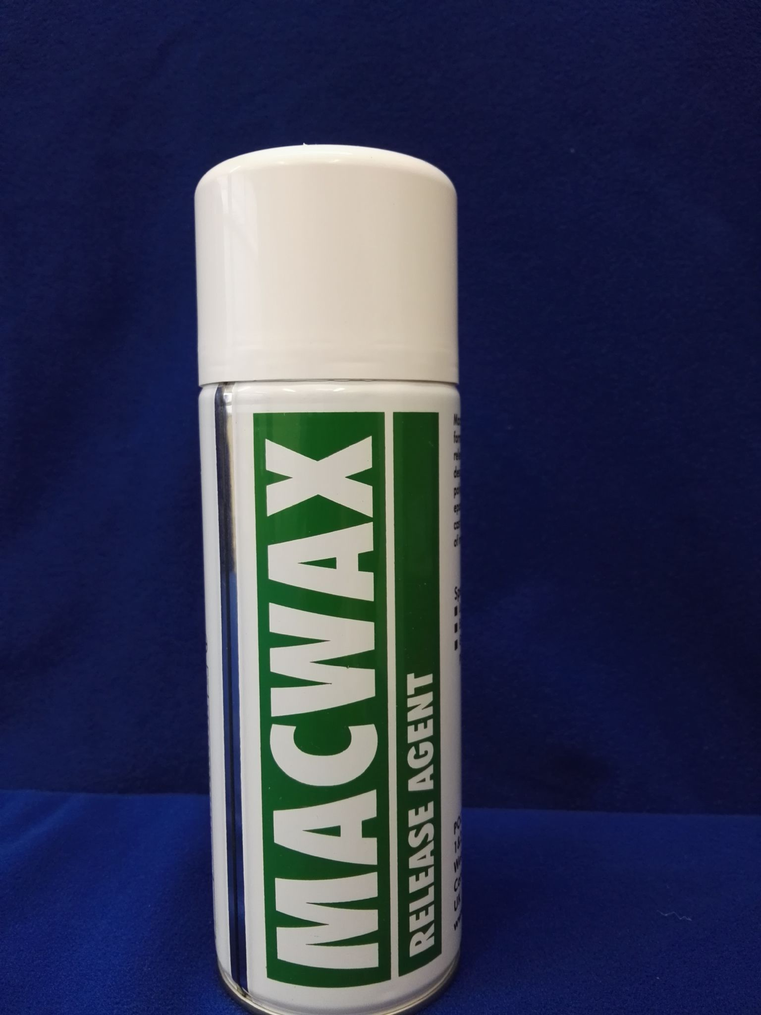 Macwax non-silicone aerosol release agent 400ml Wax Based